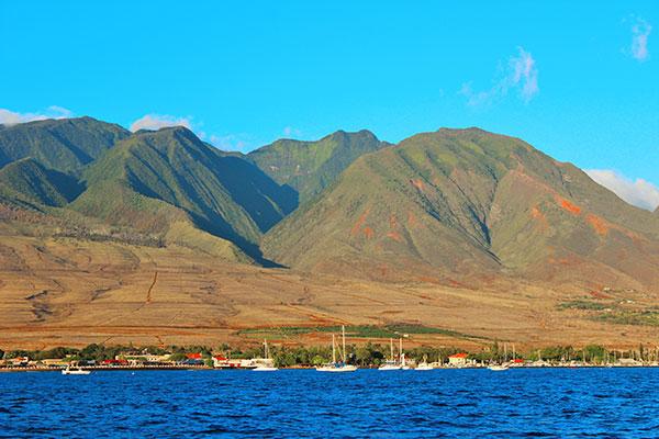 Maui Adventure Sail | West Maui Mountains