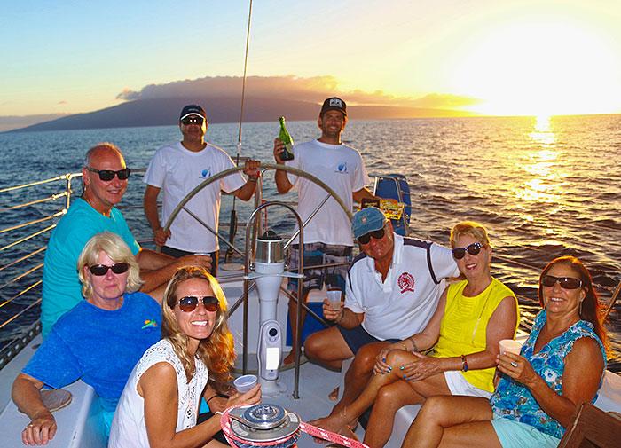Maui Champagne Sunset Sail