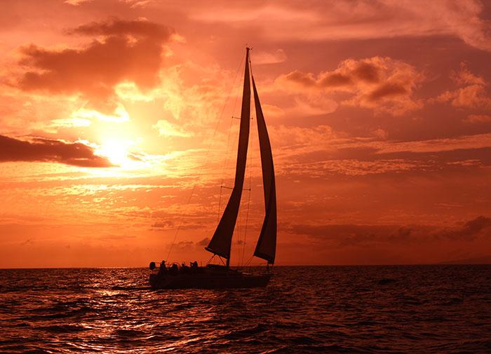 Champagne Sunset Sail Maui